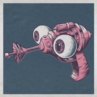 Pistola ojos